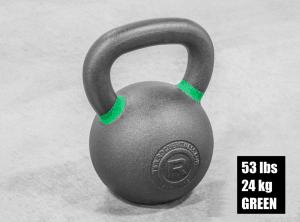 Rogue Fitness Kettlebells - green - 53 lbs