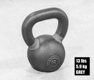 Rogue Fitness kettlebell 13 lbs - grey
