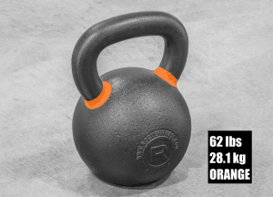 Rogue Fitness Kettlebell - Orange - 62 lbs