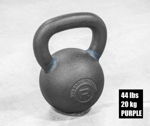 Rogue Fitness Kettlebell - Purple - 44 lbs