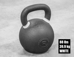 Rogue Fitness Kettlebell - White - 88 lbs