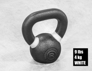 Rogue Fitness Kettlebell - white - 9 lbs