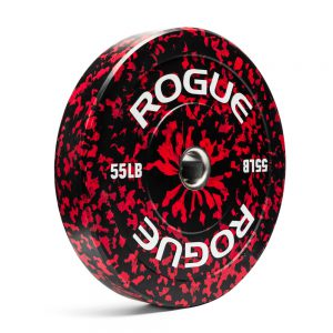Rogue Fleck Plate Red = 55lb