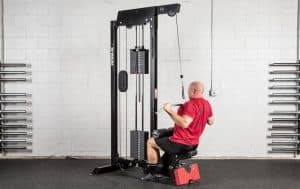 Rogue Monster Lat Pulldown/Low Row - Rogue's classic Lat Pulldown machine
