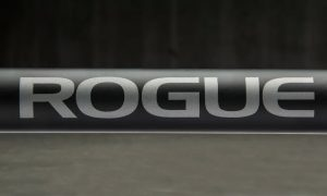 Rogue Ohio Power Bar with Rogue Logo in the center (Cerakote version)