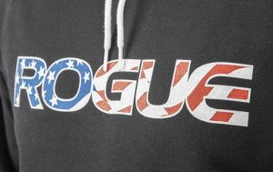 Rogue Fitness - Rogue Apparel Pullover with American flag Rogue logo