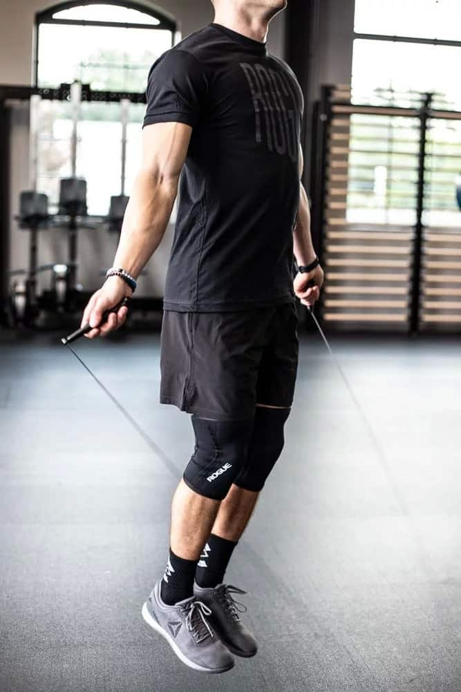 Rogue Fitness SR-343 Mach Speed Rope - most advanced jumping rope offered by Rogue Fitness - incredible spin up to 10x better than their other models