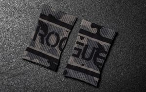 Rogue Wrist Bands are a cheap and effective way to help keep your hands and grip dry.