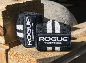 Rogue Wrist Wraps - great for bench press and more.