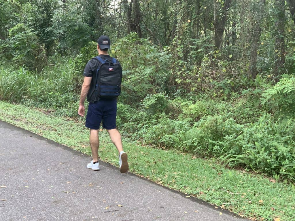 How many calories does rucking burn? We test to find out.