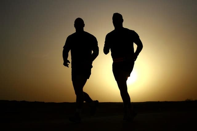 Running - a great outdoor fitness activity that is both simple and effective.