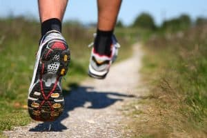 Running shoes for trail running