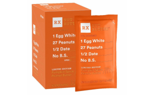 Pumpkin Spice Peanut Butter limited edition RxBar
