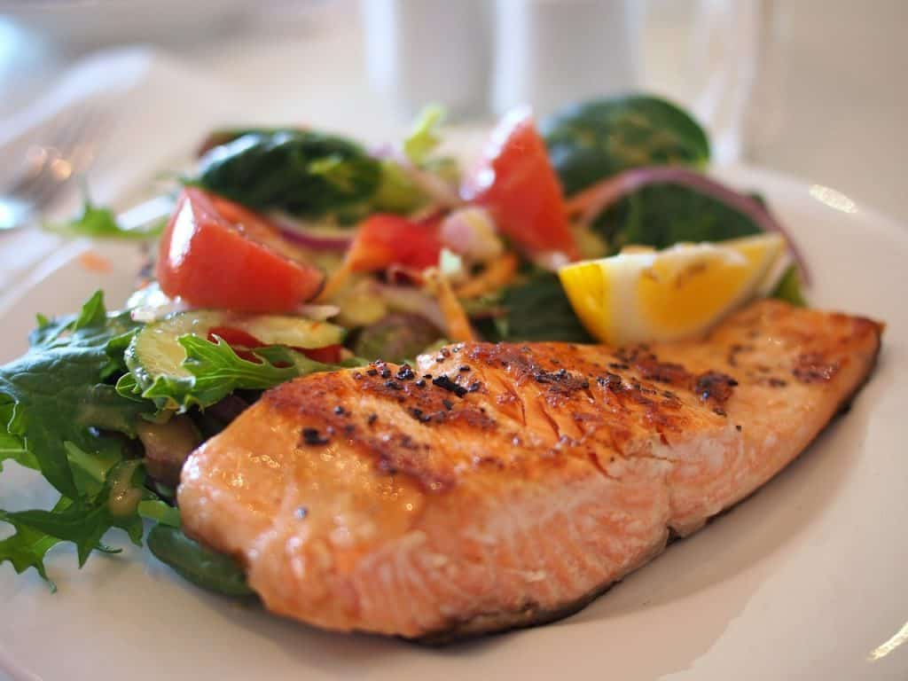 Salmon - excellent source of omega-3 fats