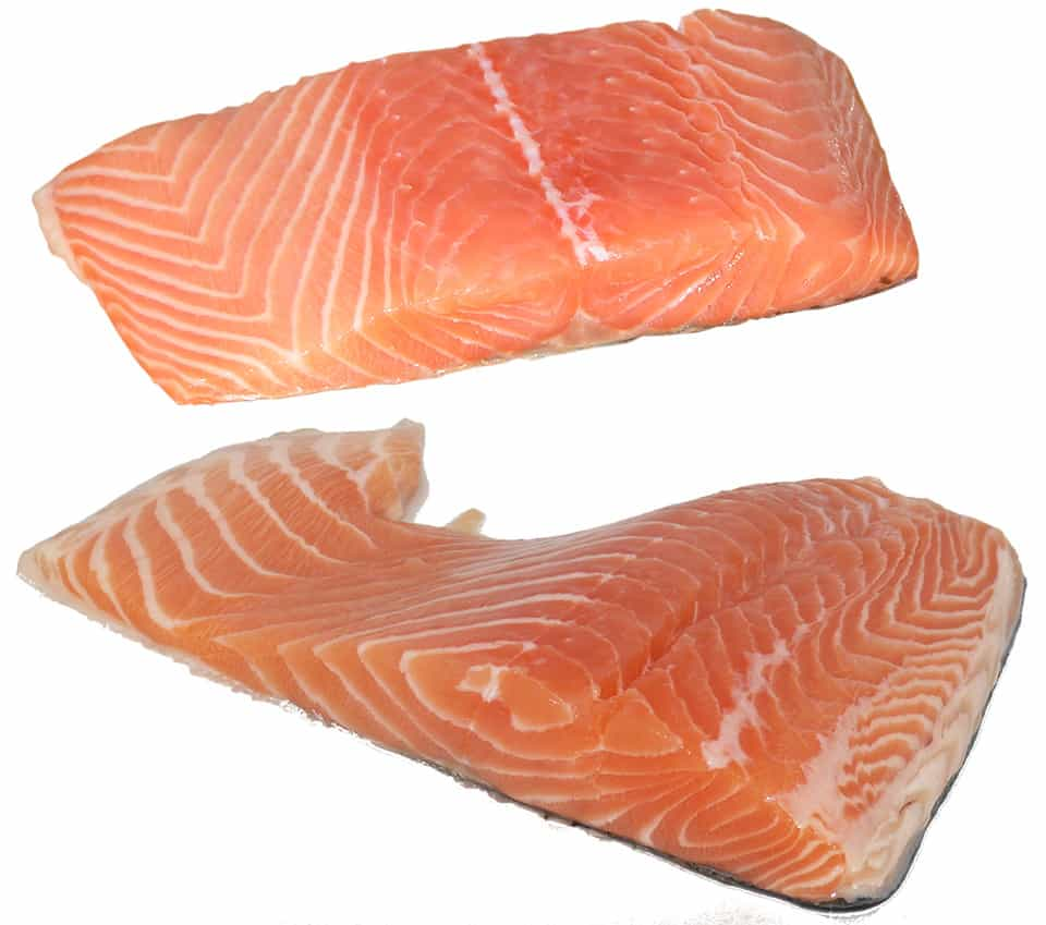 Salmon - a fatty fish, is a good source of omega-3 fatty acids