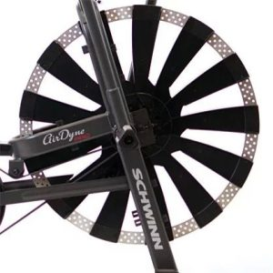 The fan from an Schwinn Airdyne Pro fan bike