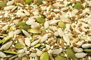 Seeds - a part of the paleo diet
