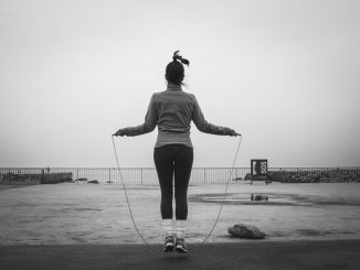 Skipping rope is easy and effective exercise you can do almost anywhere