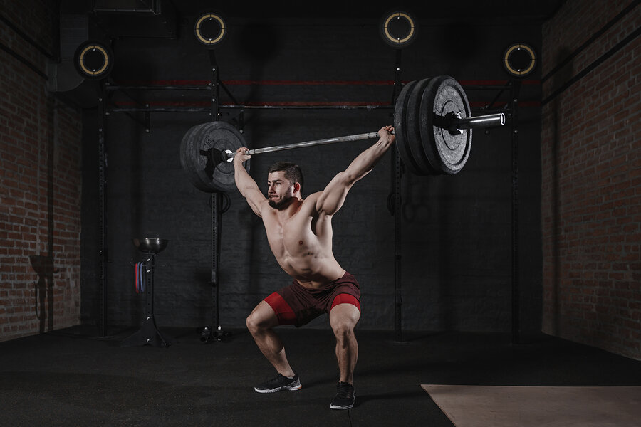 The Snatch is an olympic lift often used in CrossFit WODs or other functional fitness training.