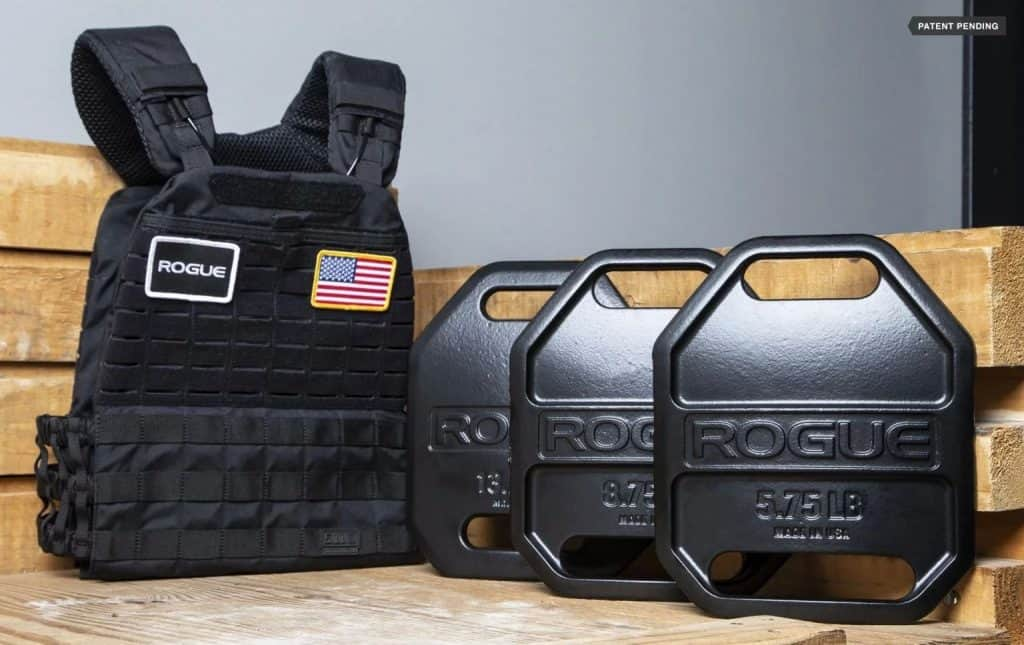 Cast with a double-curved ergonomic shape, Rogue's USA Cast Weight Vest Plates offer a level of comfort and freedom of movement not possible with most traditional flat metal vest plates. The design was inspired by examining the armor utilized in modern bulletproof vests—the same type trusted by police and military personnel for years.