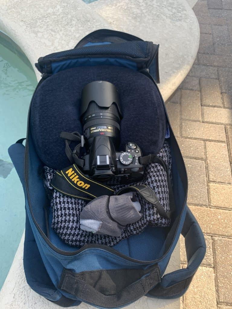 Useful things in a rucksack