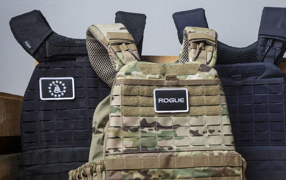Velcro patches on 5.11 TacTec vest