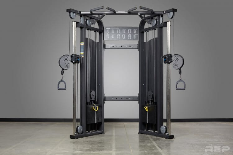 The Victory Multi-Grip Functional Trainer is the best functional trainer cable machine for most home gyms and garage gyms. It is built well, reasonably priced, and provides many exercise options.