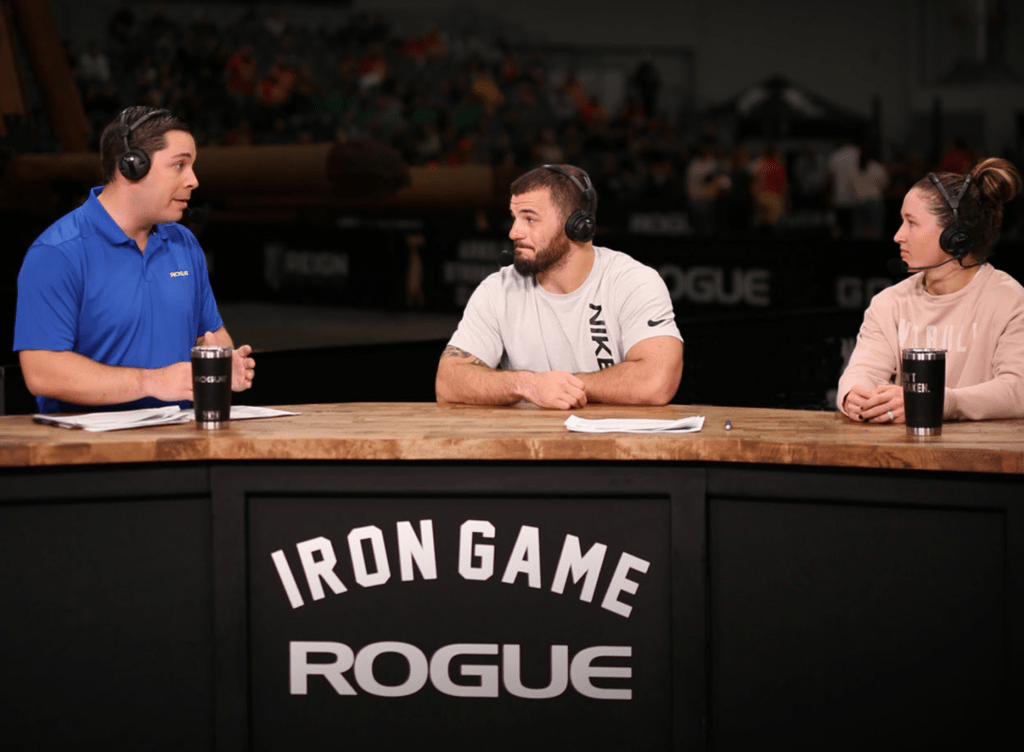 Rogue Iron Game - covering CrossFit Games 2020