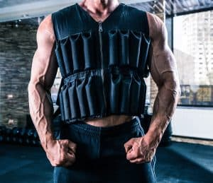 weighted vest for a workout