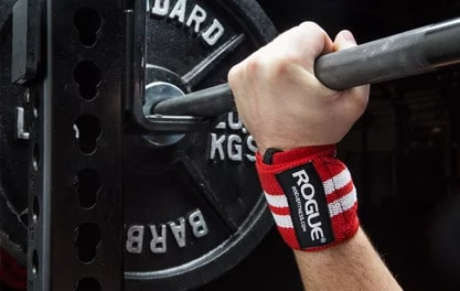 Wrist wraps for bench press